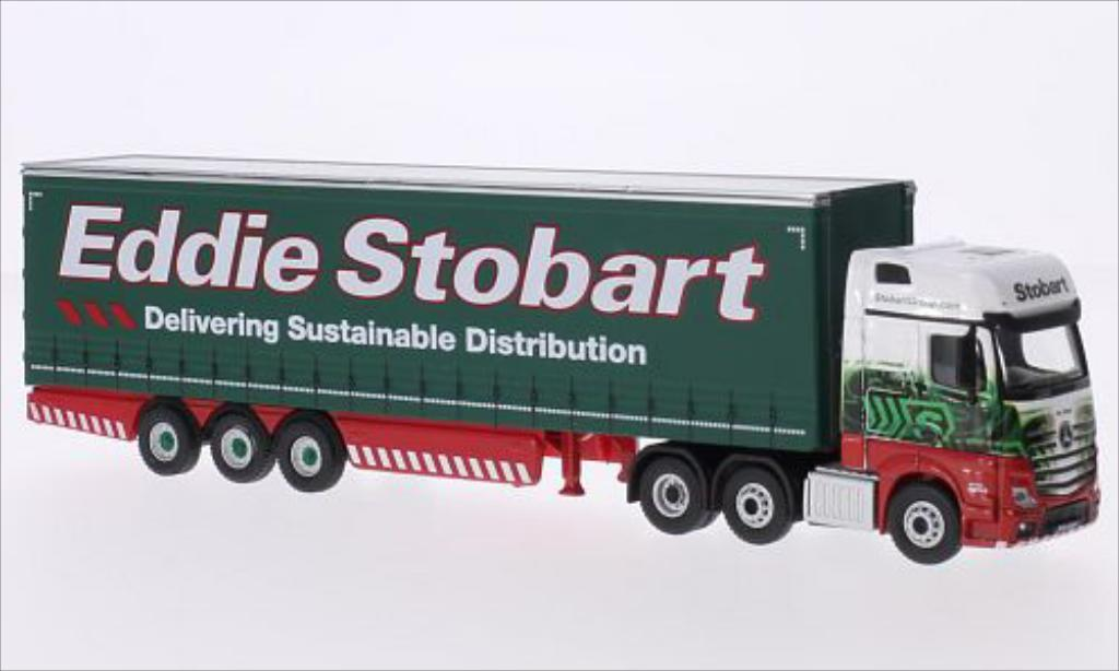 Mercedes Actros 1/76 Oxford MP4 GSC RHD Eddie Stobart miniature