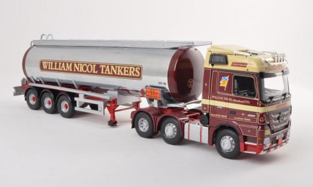 Mercedes Actros 1/50 Corgi Tanksattelzug William Nicol Tankers miniature