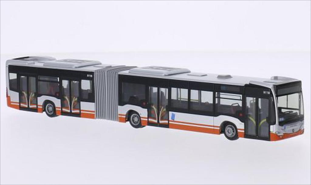 Miniature Mercedes Citaro G STIB (B) 2012 Rietze. Mercedes Citaro G STIB (B) 2012 miniature 1/87