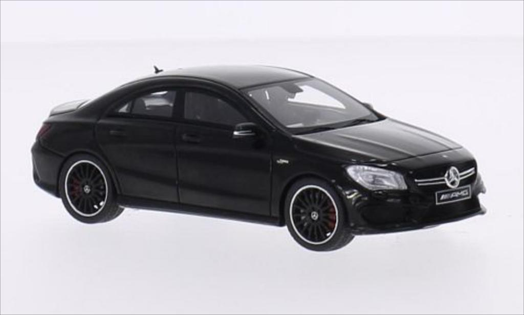 mercedes cla 45 amg c117 schwarz spark modellauto 1 43. Black Bedroom Furniture Sets. Home Design Ideas