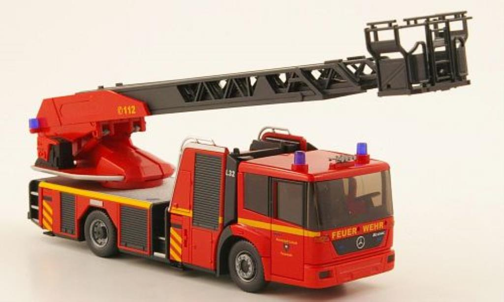 Mercedes Econic 1/87 Wiking DL 32 Feuerwehr Lubeck miniature