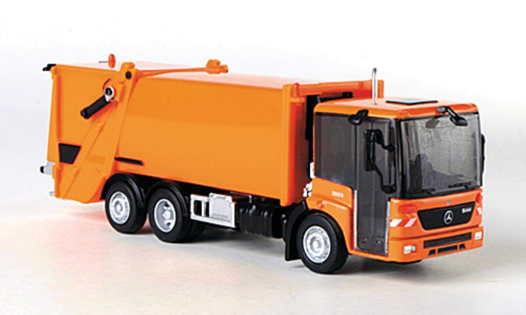 Mercedes Econic 1/87 Schuco Mullwagen orange