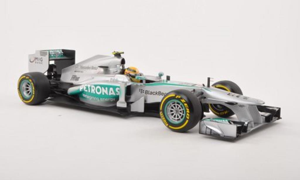 Mercedes F1 1/18 Minichamps W04 No.10 Petronas -Saison 2013 miniature