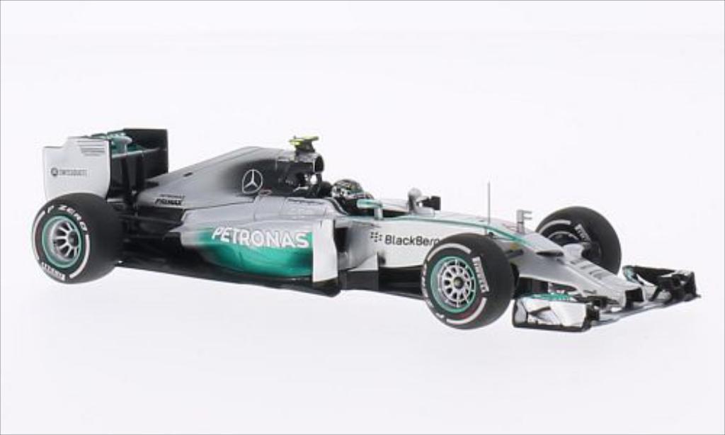 Mercedes F1 1/43 Minichamps W05 No.6 AMG Petronas Team Petronas Formel 1 GP Australien 2014 miniature