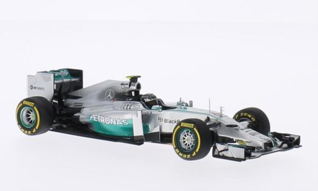 Mercedes F1 1/43 Spark W05 No.6 Petronas GP Australien 2014 miniature