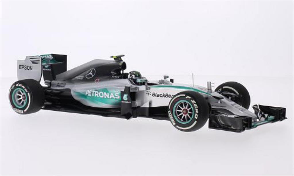 Mercedes F1 1/18 Minichamps W06 Hybrid No.6 AMG Petronas Team Petronas Formel 1 GP Australien 2015