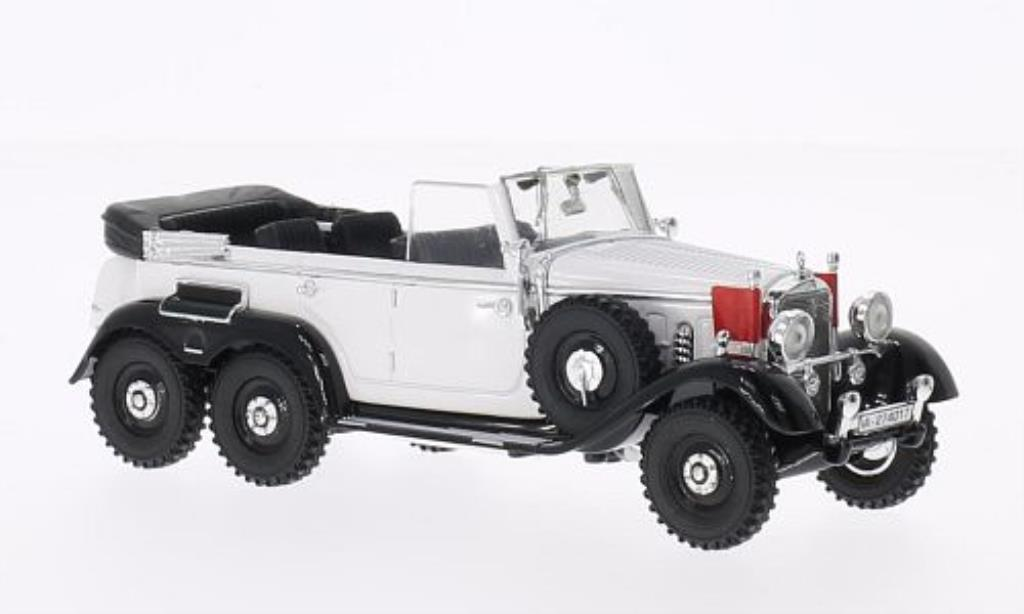 Mercedes G4 1/43 Signature white 1938 diecast model cars