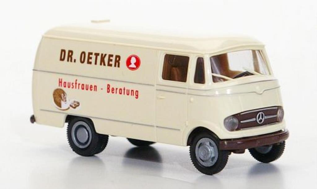 Mercedes L319 1/87 Brekina Dr. Oetker miniature