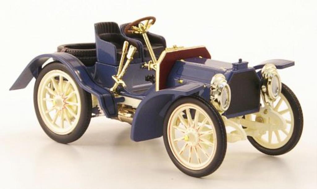 Mercedes Simplex 1/43 IXO 40PS bleu/blanche 1902 miniature