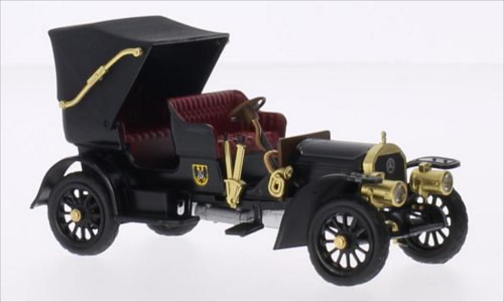 Mercedes Simplex 1/43 Rio black/Dekor RHD 1902 diecast model cars