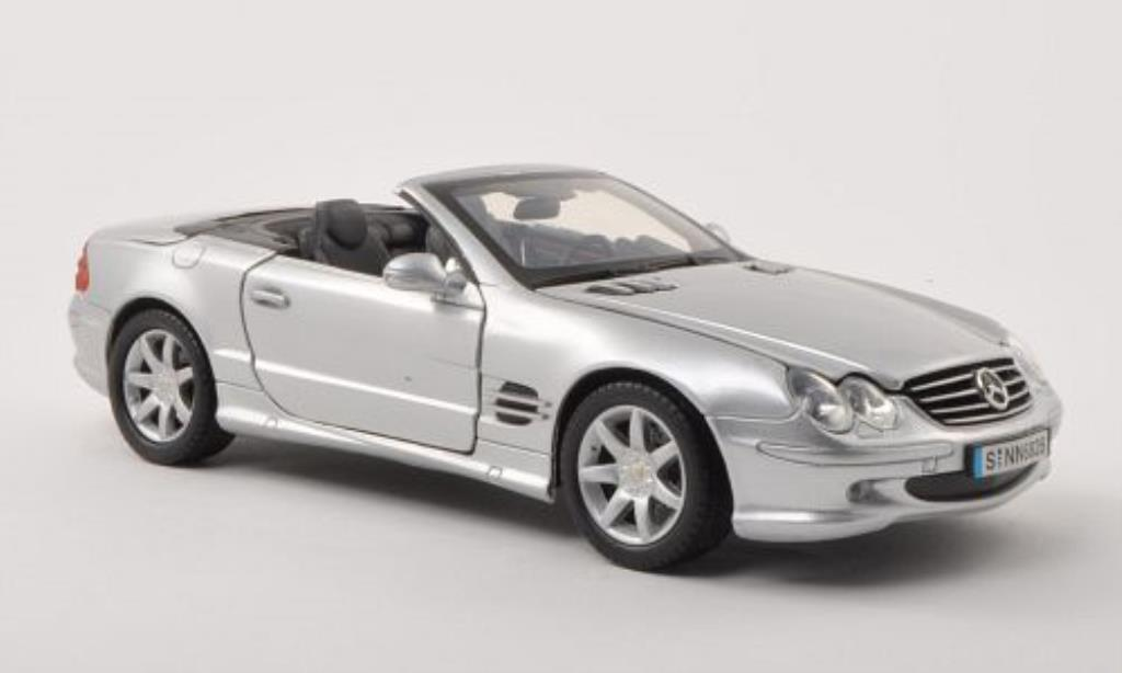 mercedes sl 500 r230 gray mit klappverdeck 2002 motormax. Black Bedroom Furniture Sets. Home Design Ideas