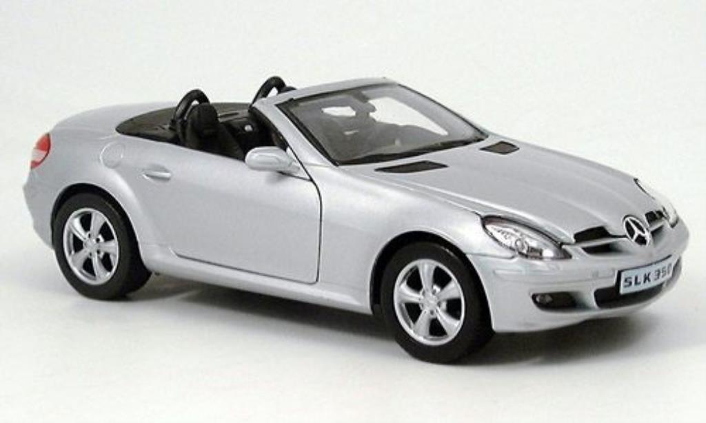 Mercedes Classe SLK 1/24 Welly 350 grise miniature