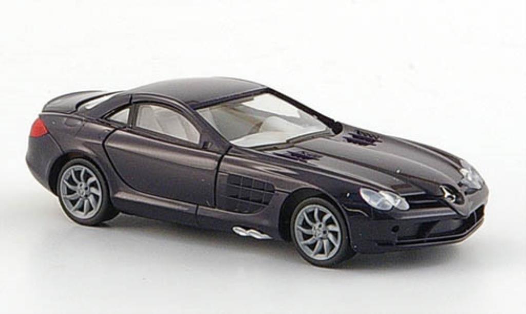 Mercedes SLR 1/87 Herpa noire 2004 miniature