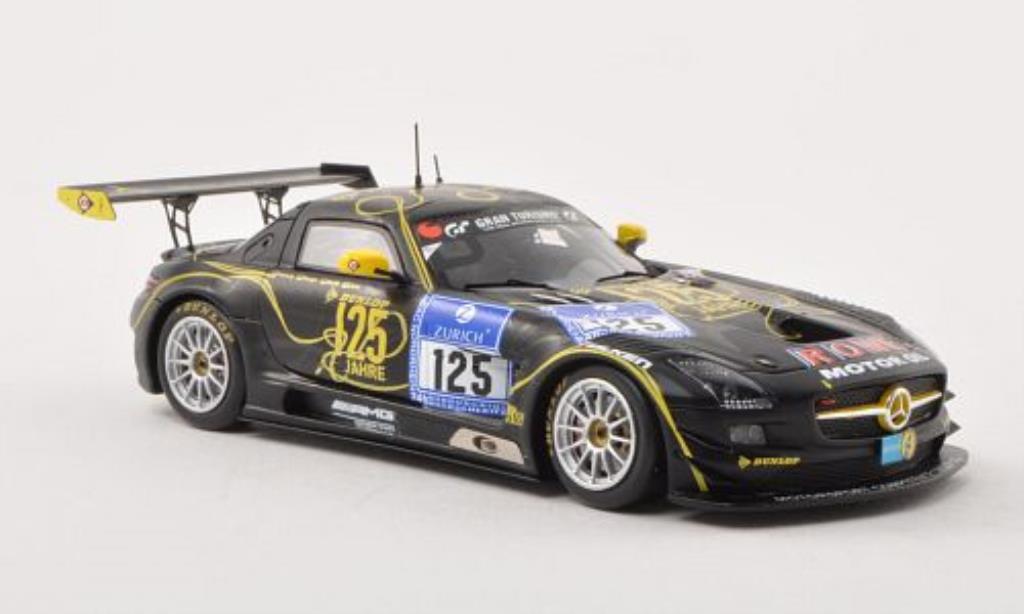 Mercedes SLS 1/43 Spark AMG GT3 No.125 Rowe Racing 24h Nurburgring 2013 /M.Hartung miniature