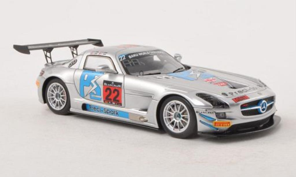 Mercedes SLS 1/43 Spark AMG GT3 No.22 Preci-Spark 24h Spa 2013 /G.Jones miniature