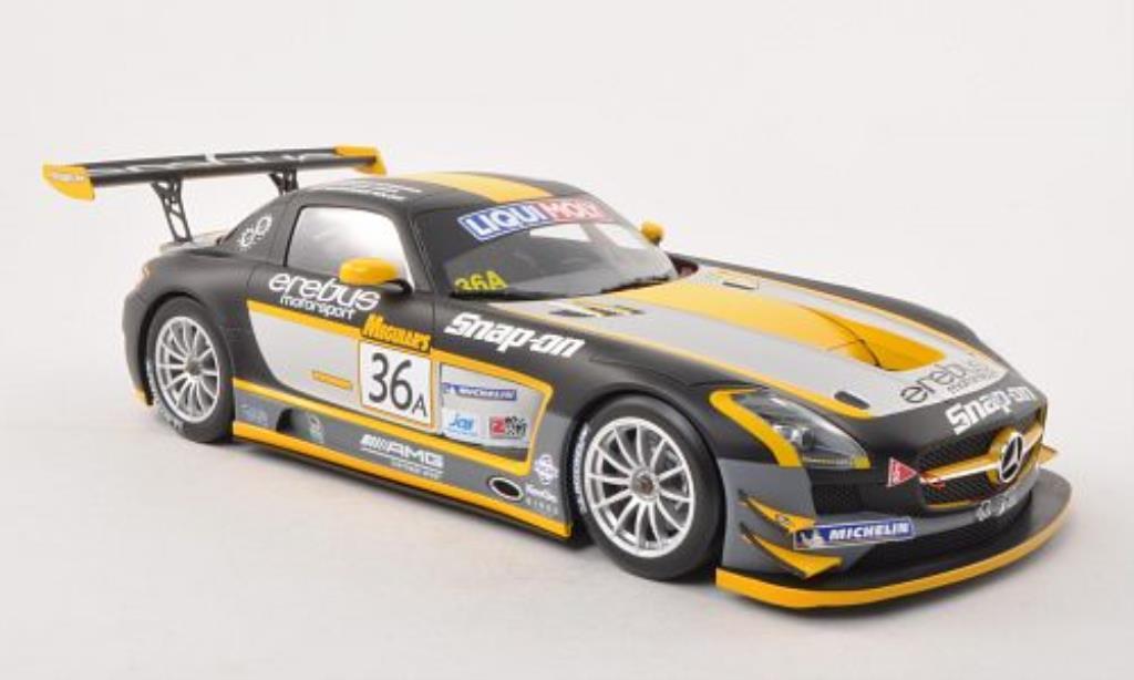 Mercedes SLS 1/18 Minichamps AMG GT3 No.36 Erebus Motorsport 12h Bathurst 2013 /A.Roloff miniature