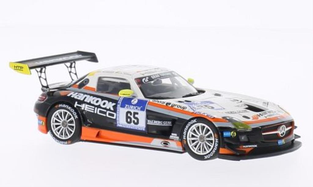 Mercedes SLS 1/43 Minichamps AMG GT3 No.65 Hankook Team Heico 24h Nurburgring 2012 /Heyer miniature