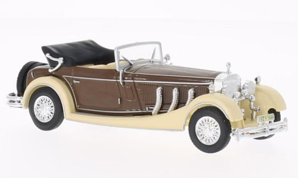 Mercedes SS 1/43 WhiteBox beige/marron 1933 miniature