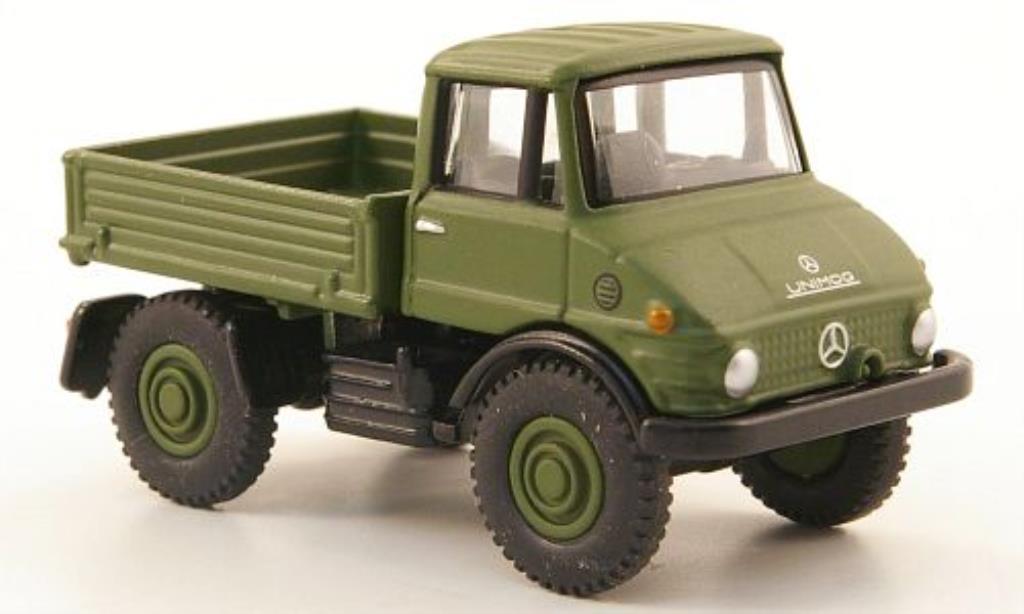 mercedes unimog 406 bundeswehr bub diecast model car 1 87. Black Bedroom Furniture Sets. Home Design Ideas
