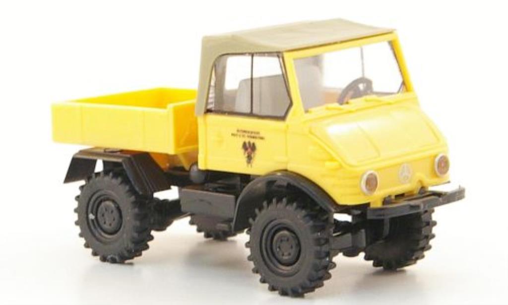 Mercedes Unimog 1/87 Brekina 421 Post osterreich miniature