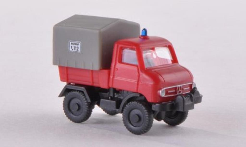 Mercedes Unimog U 411 Feuerwehr Wiking. Mercedes Unimog U 411 Feuerwehr Pompier miniature 1/160