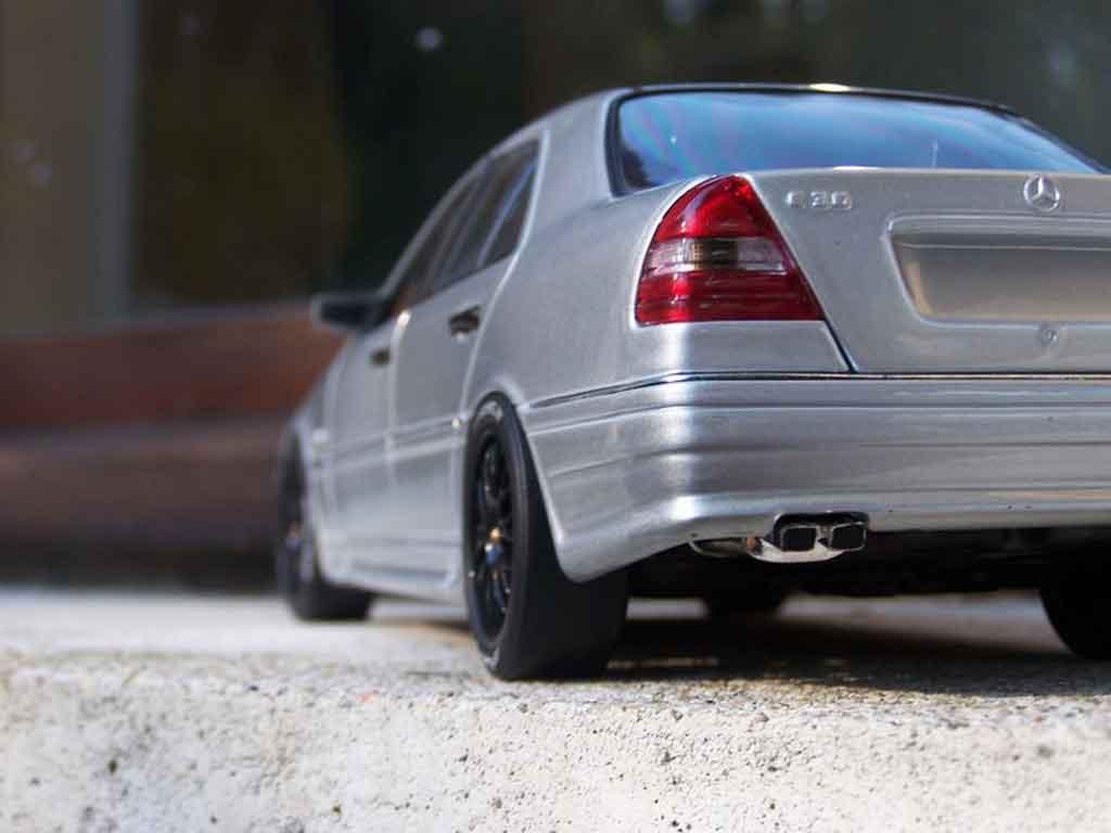 Miniature Mercedes Classe C 1 18 Ut Models 36 Amg Grise Jantes Bbs