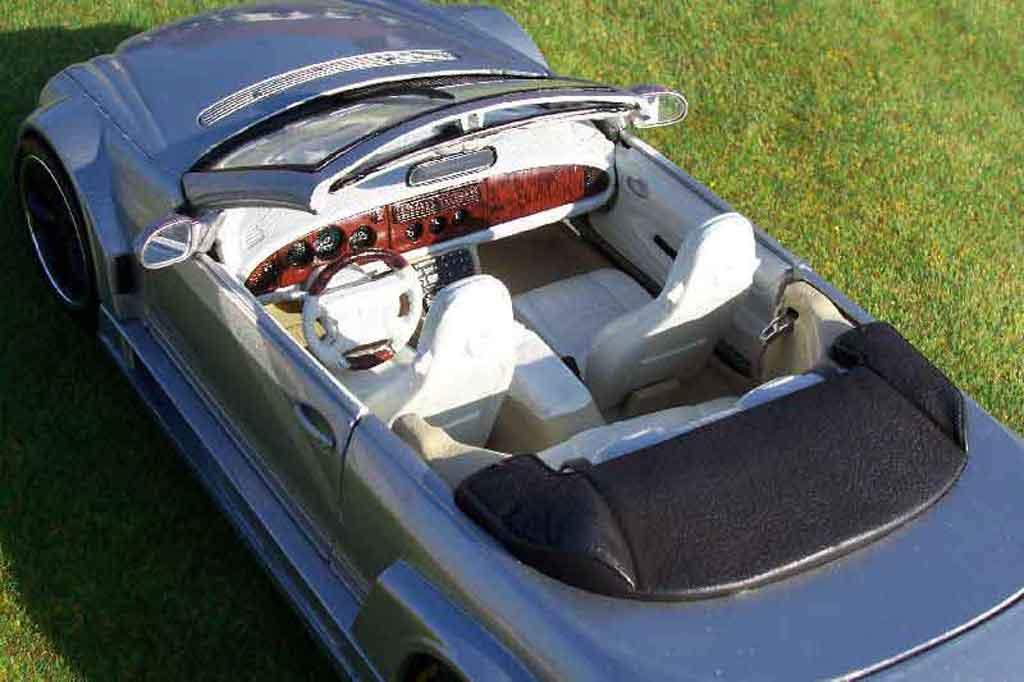 Mercedes Classe CL AMG DTM cabriolet 1/18 Maisto K AMG DTM cabriolet street grise