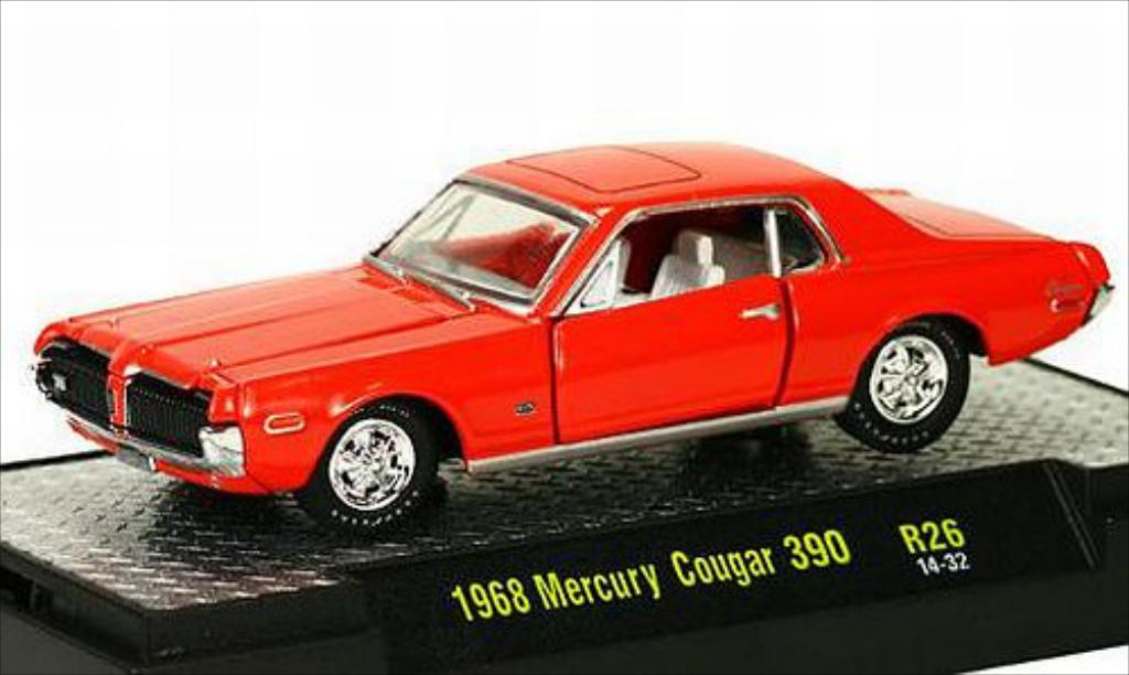 mercury cougar 390 orange 1968 mcw coches miniaturas 1 64 comprar venta coches miniaturas en. Black Bedroom Furniture Sets. Home Design Ideas