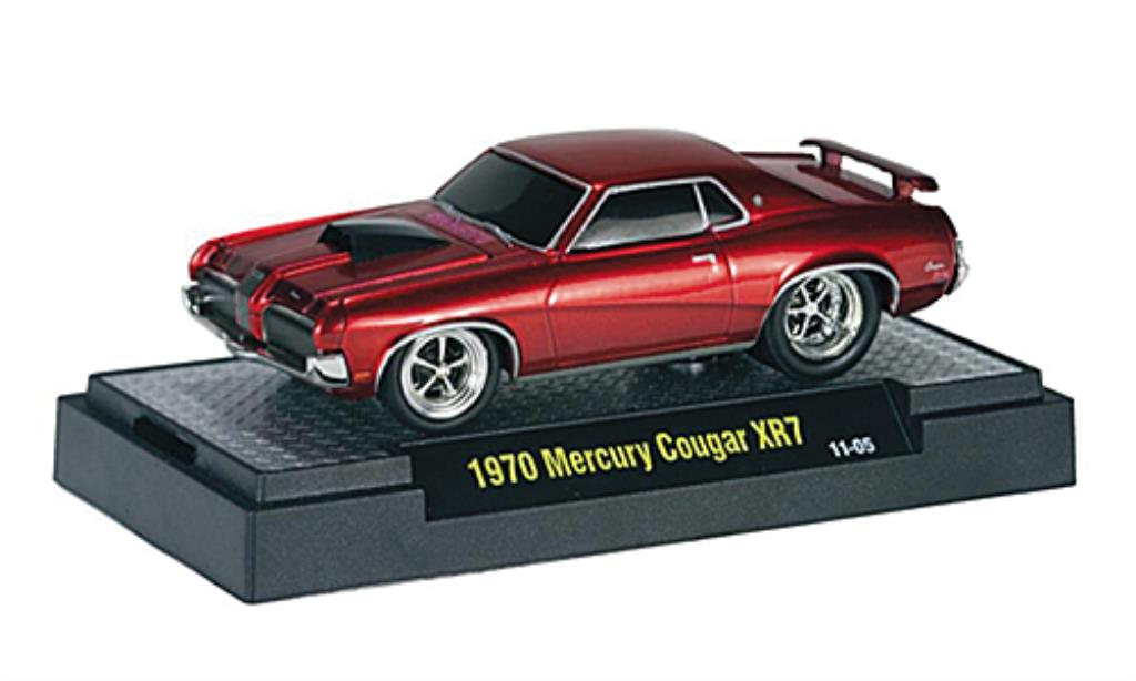 mercury cougar xr7 rojo tuningversion 1970 mcw coches miniaturas 1 64 comprar venta coches. Black Bedroom Furniture Sets. Home Design Ideas