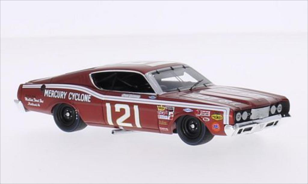 Mercury Cyclone 1/43 Spark No.121 Riverside 1969 miniature