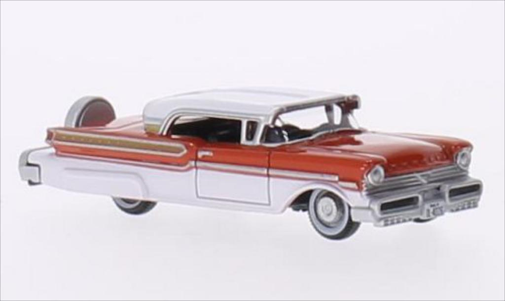 Mercury Turnpike 1/87 Oxford rouge/blanche 1957 miniature
