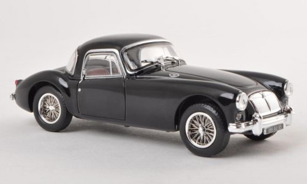 MG A 1/43 Norev Coupe black LHD 1956 diecast model cars