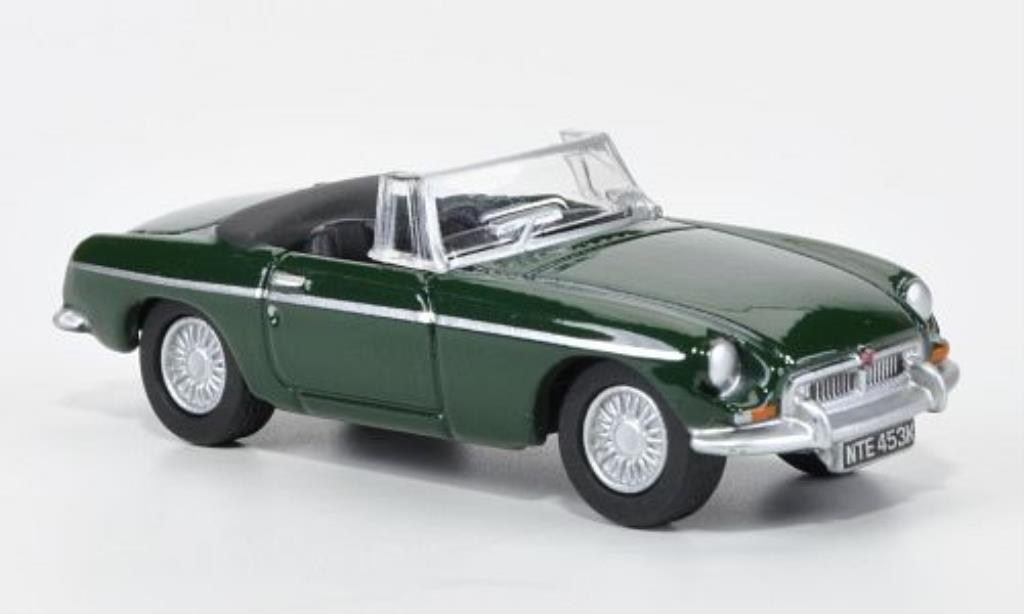 MG B 1/76 Oxford verte offen 1970 miniature