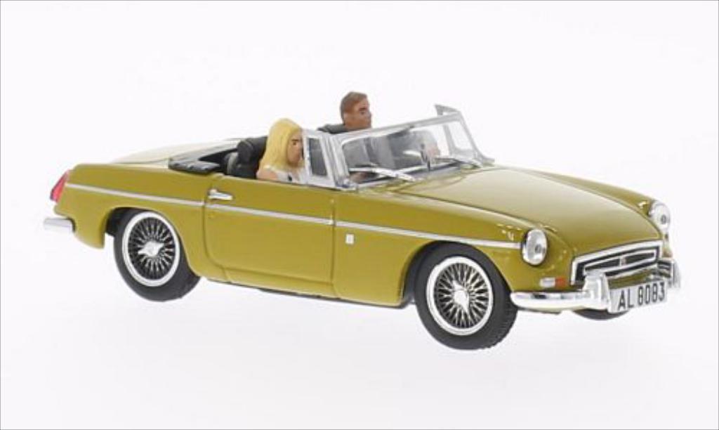 mg b james bond 007 dunkelyellow 1974 mcw diecast model car 1 43 buy sell diecast car on. Black Bedroom Furniture Sets. Home Design Ideas