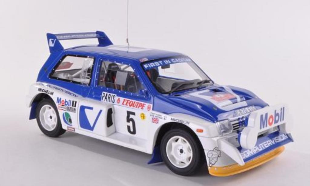 MG Metro 1/18 Ottomobile 6R4 No.5 Computervision T.Pond/R.Arthur Rally Monte Carlo 1986 miniature