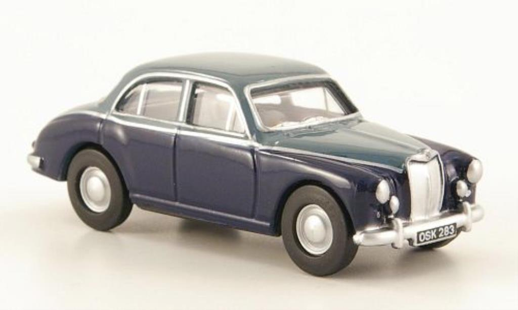 MG ZB 1/76 Oxford bleu/grisebleu miniature