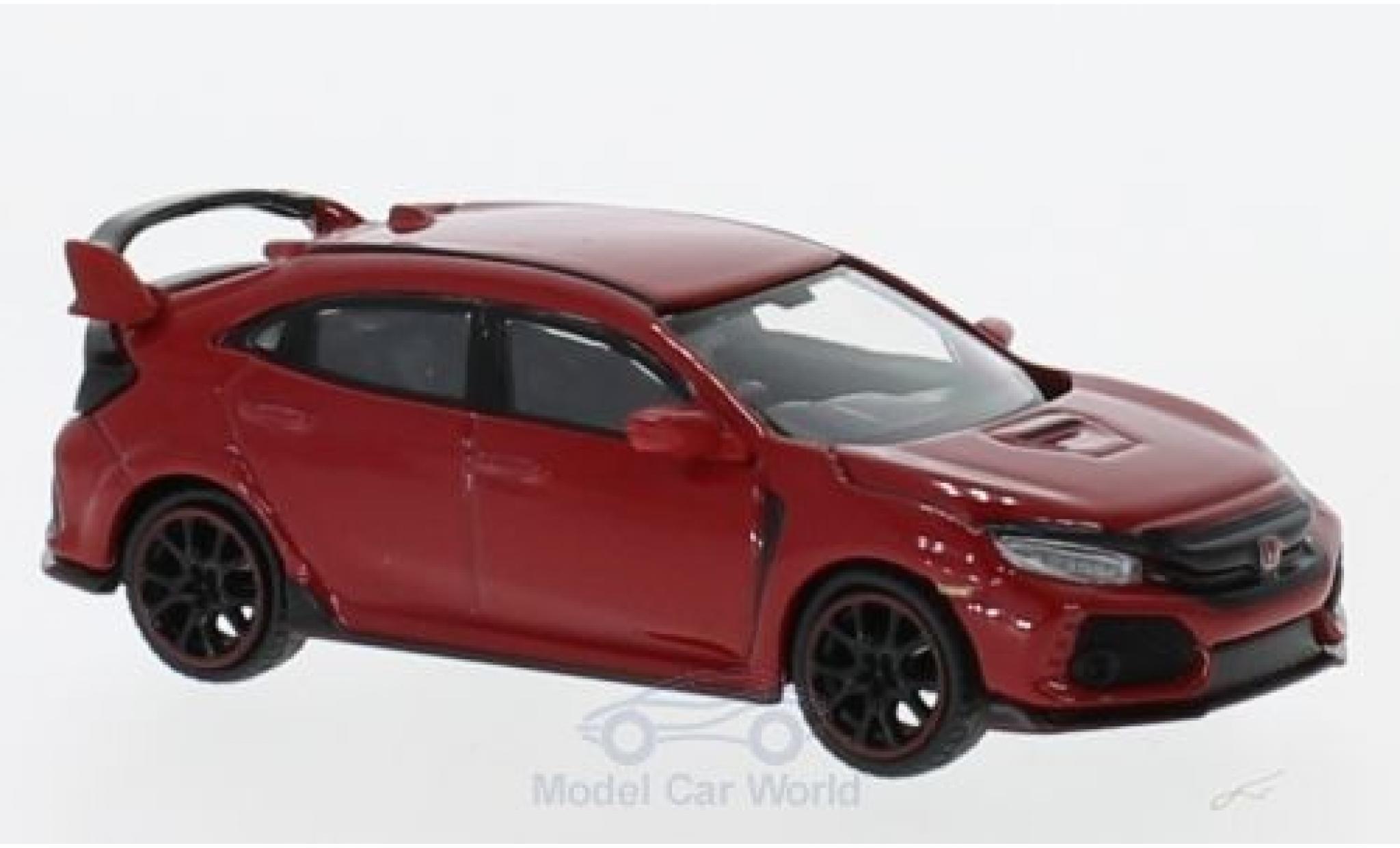 Honda Civic Type R 1/64 Mini GT (FK8) rouge RHD