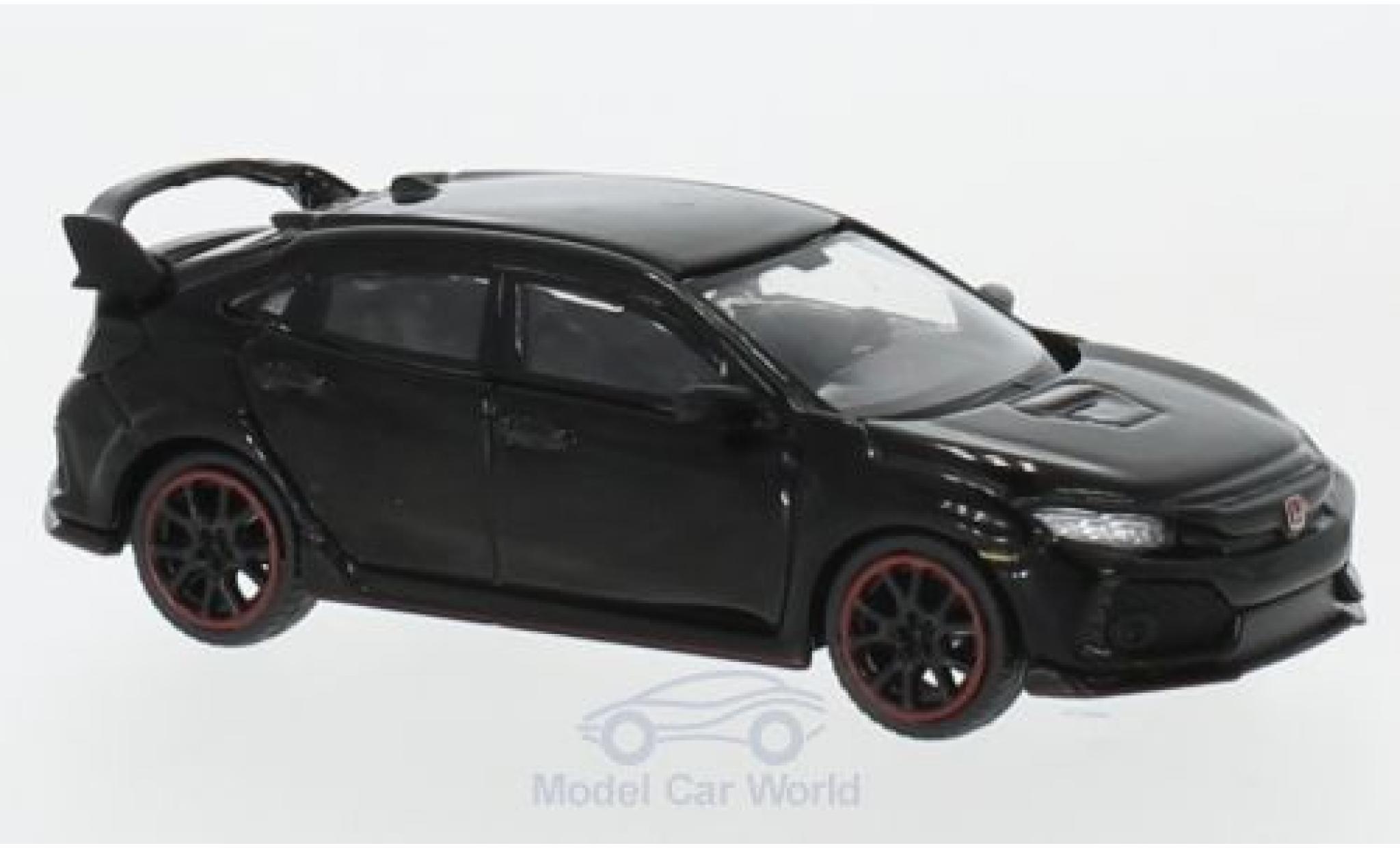Honda Civic 1/64 Mini GT Type R (FK8) black