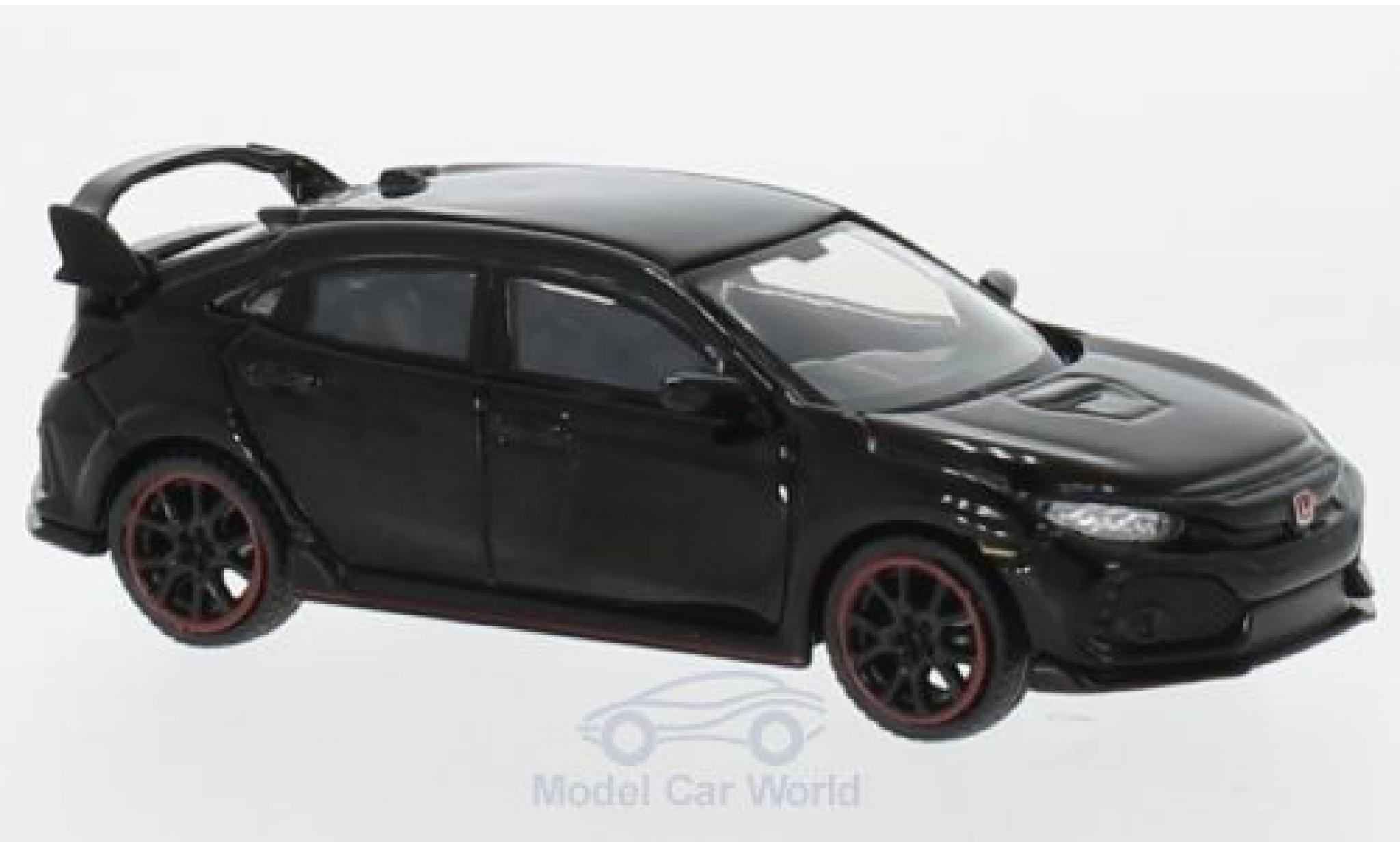 Honda Civic 1/64 Mini GT Type R (FK8) black RHD