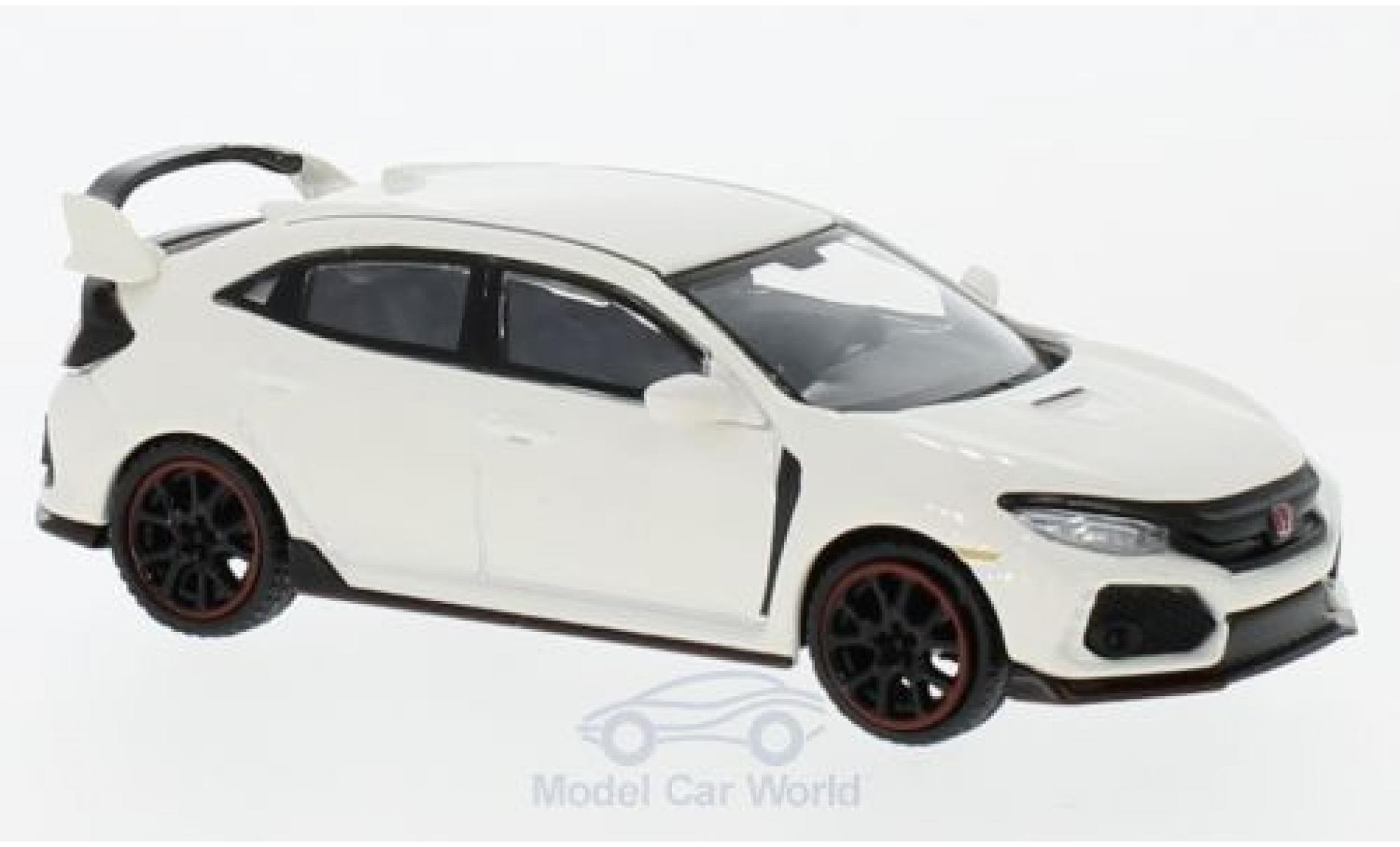 Honda Civic 1/64 Mini GT Type R white