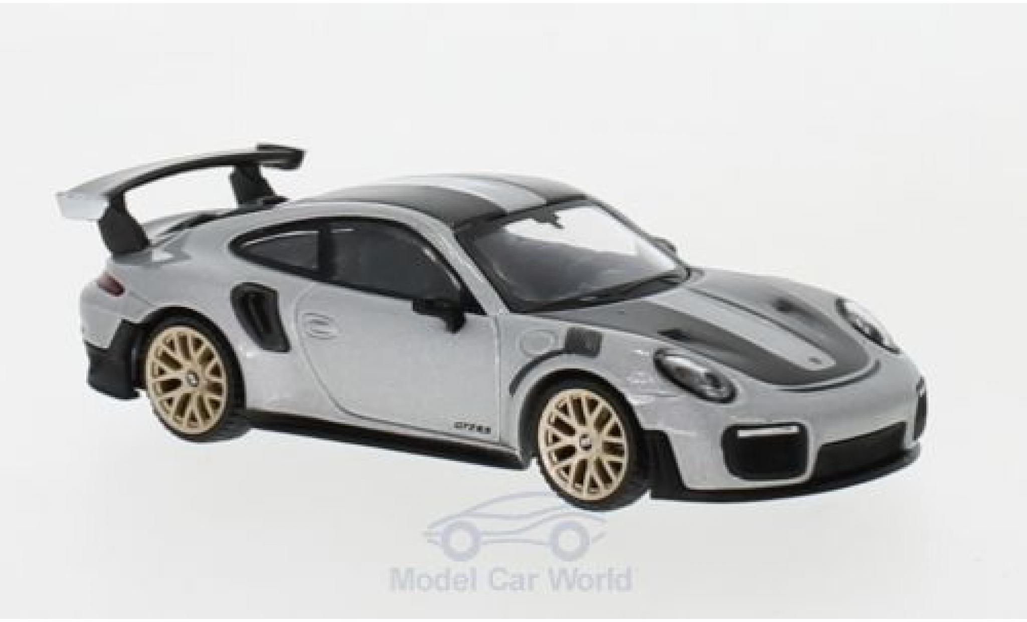 Porsche 991 GT2 RS 1/64 Mini GT 911 ( II) grey Weissach Package