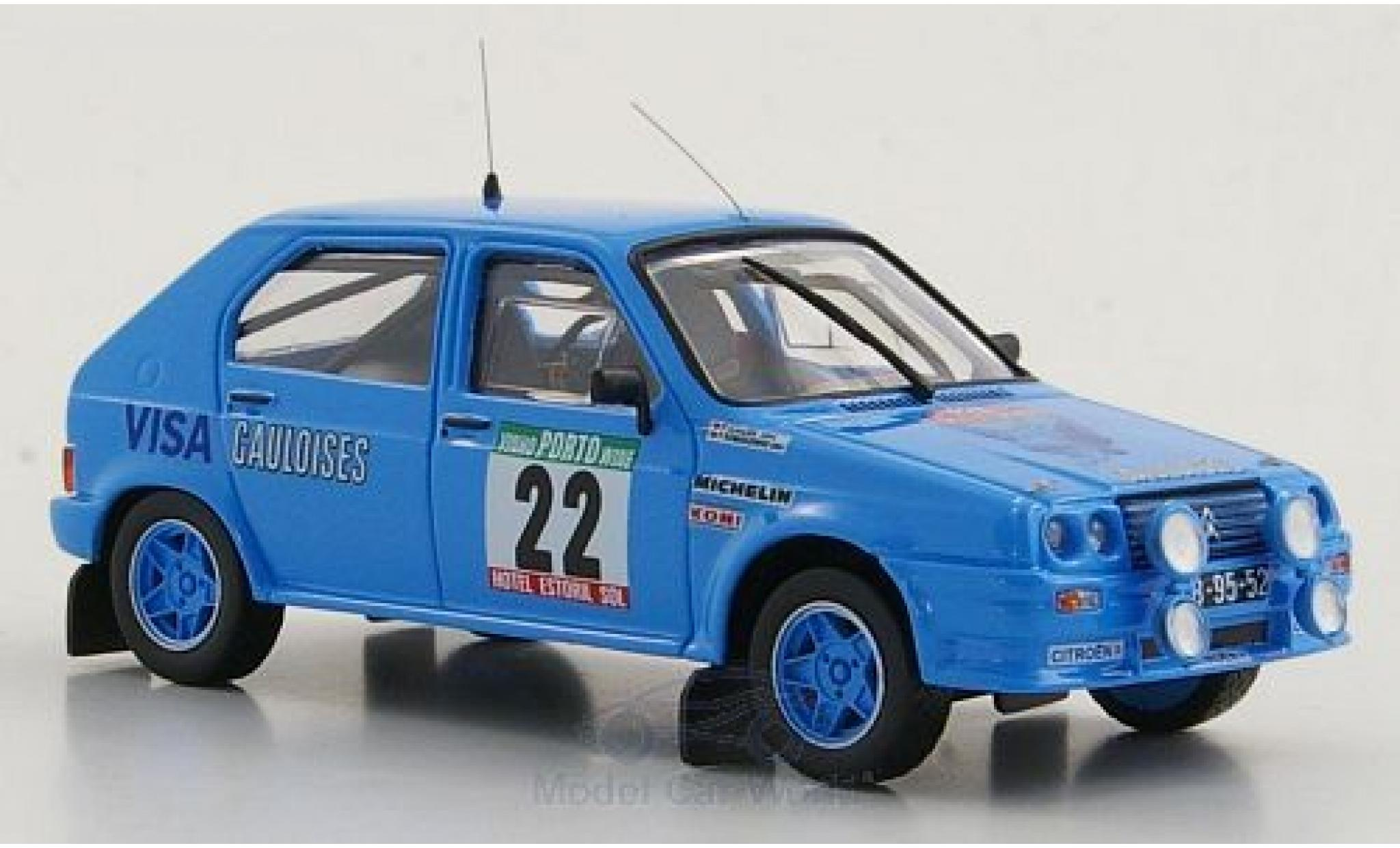 Citroen Visa 1/43 Mini Partes Chrono Gr.B No.22 Rallye Portugal 1983 /P.Almeida