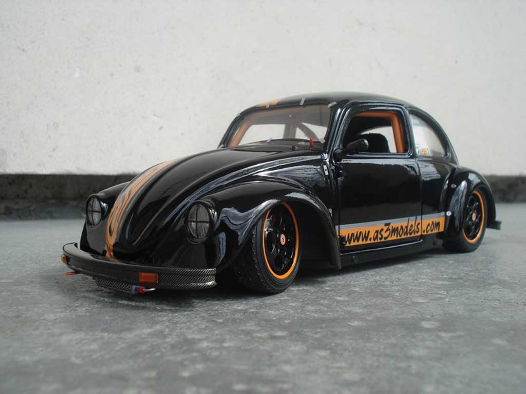 Volkswagen Coccinelle 1/18 Solido AS3models.com