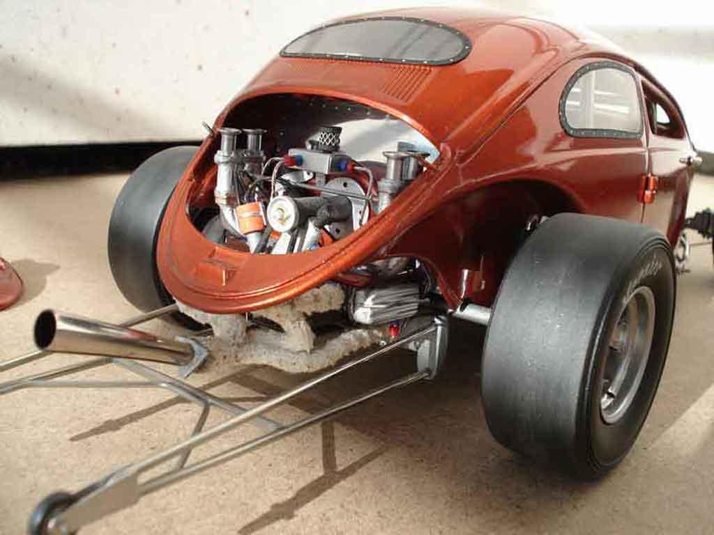 Volkswagen Kafer Hot Rod 1/18 Burago cox ass kicker 56