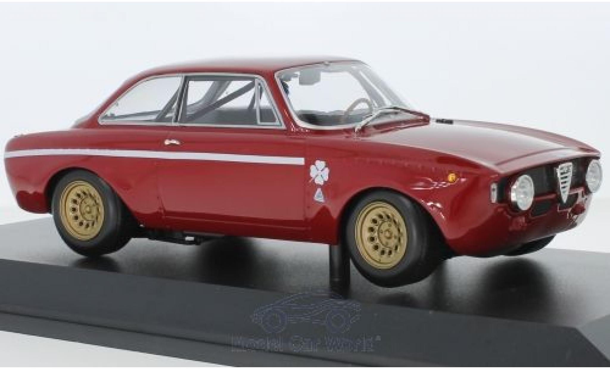 Alfa Romeo GT 1/18 Minichamps A 1300 Junior rosso 1971