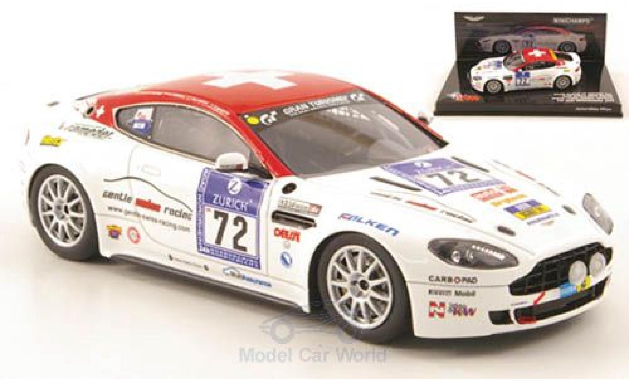 Aston Martin Vantage 1/43 Minichamps V8 No.72 24h Nürburgring 2009