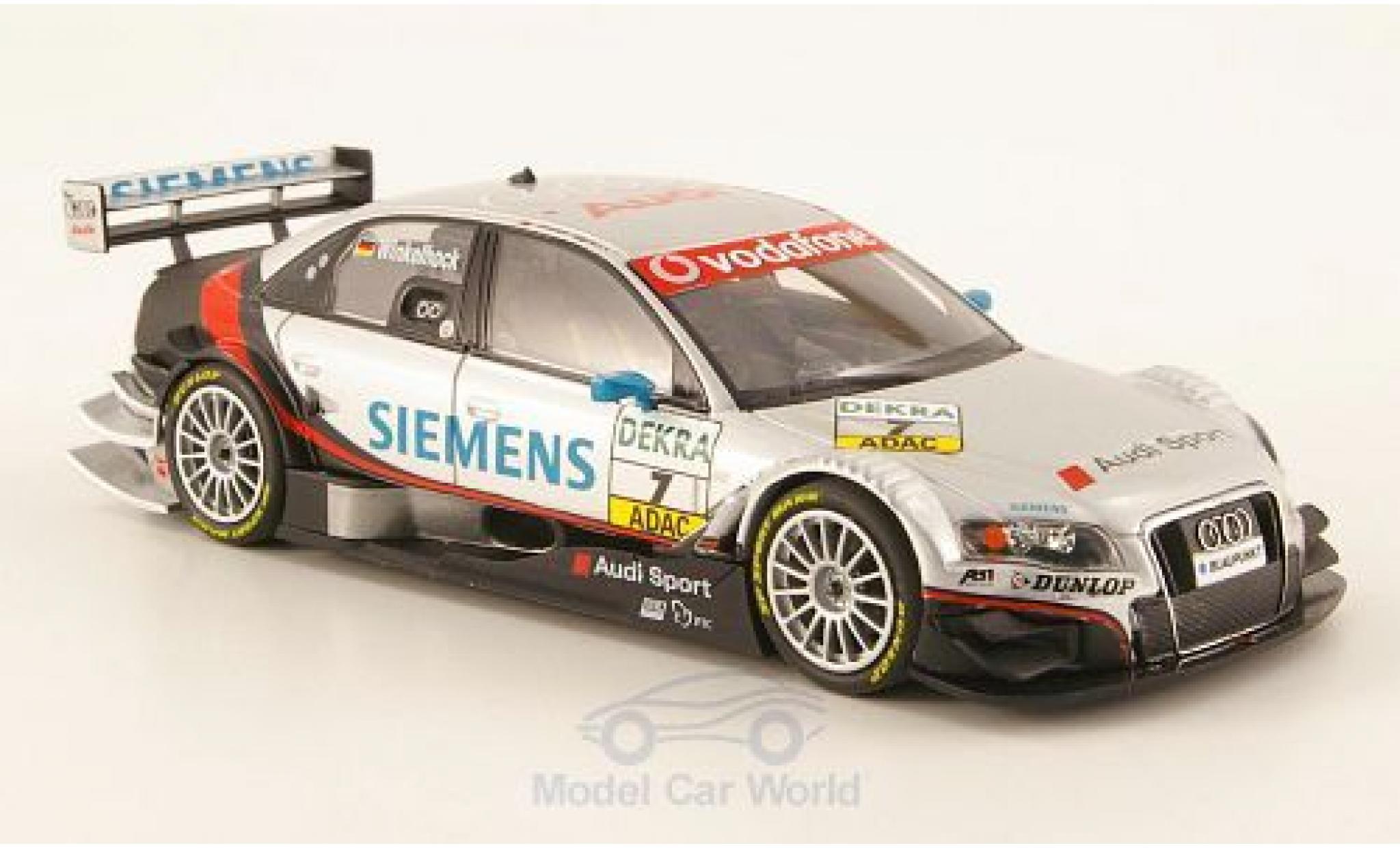 Audi A4 DTM 1/43 Minichamps DTM No.7 Team Abt Siemens DTM 2007 M.Winkelhock