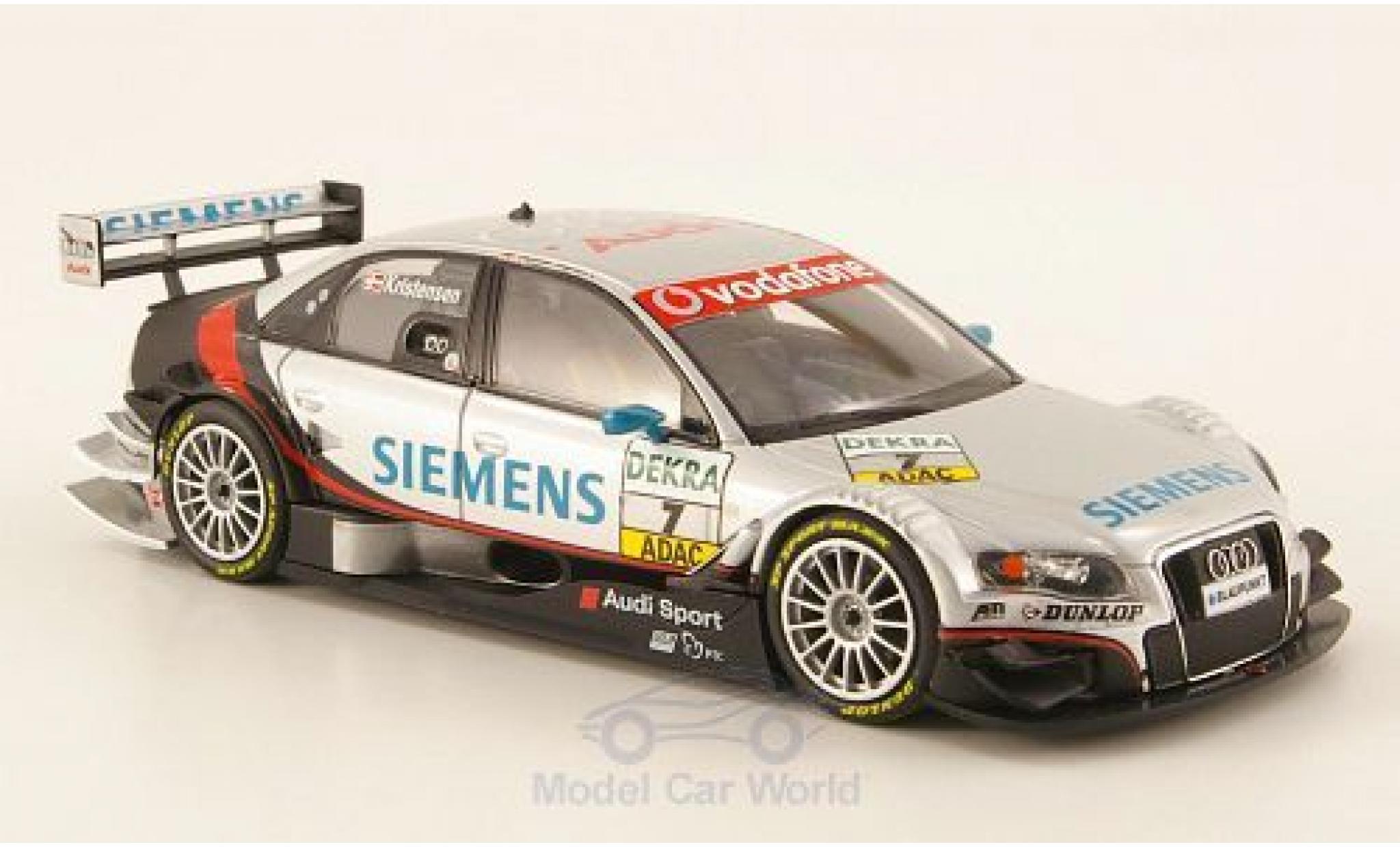 Audi A4 DTM 1/43 Minichamps DTM No.7 Team Abt Siemens DTM 2007 T.Kristensen