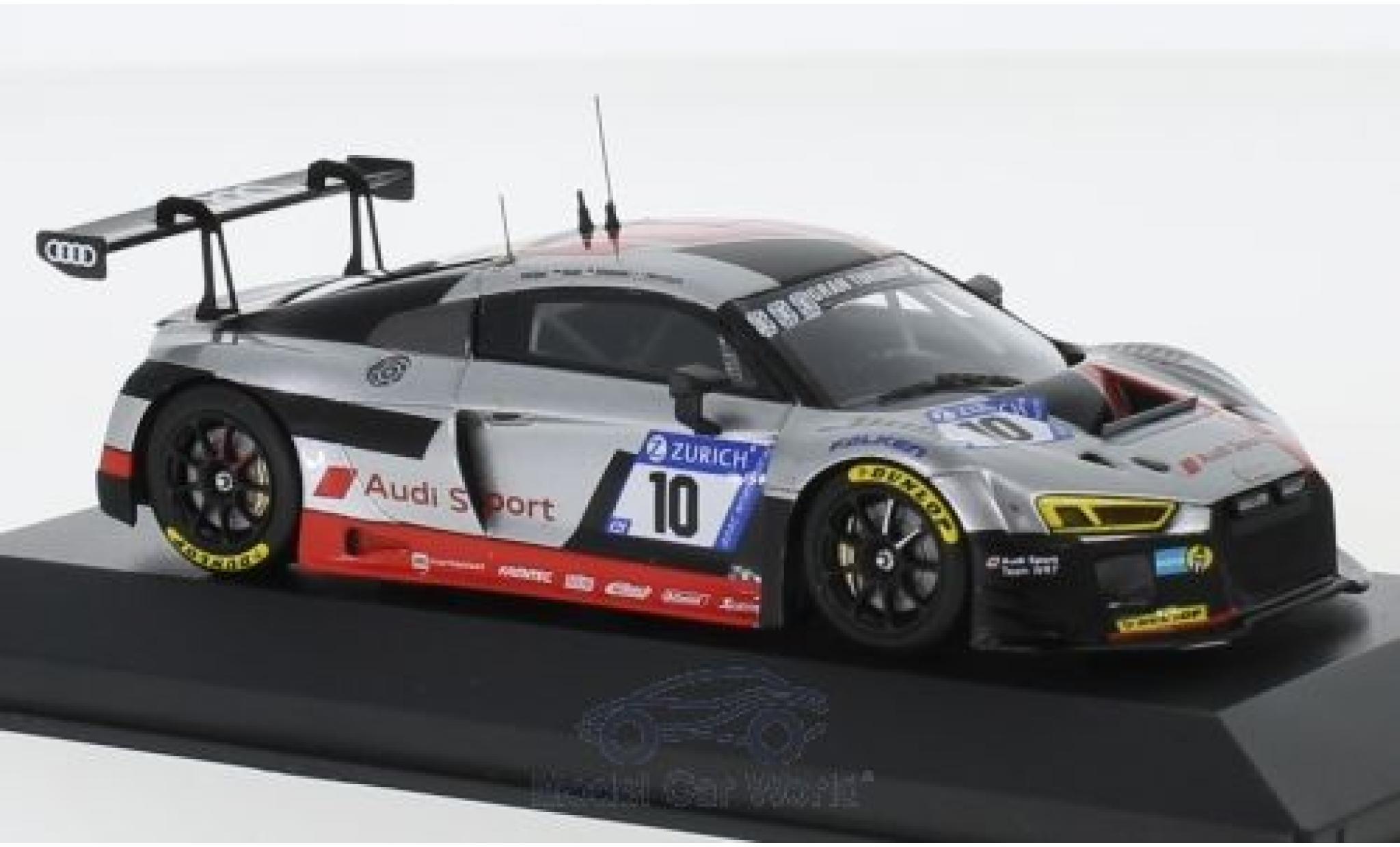 Audi R8 1/43 Minichamps LMS No.10 Sport Team WRT 24h Nürburgring 2017 F.Stippler/R.Rast/F.Vervisch/N.Müller