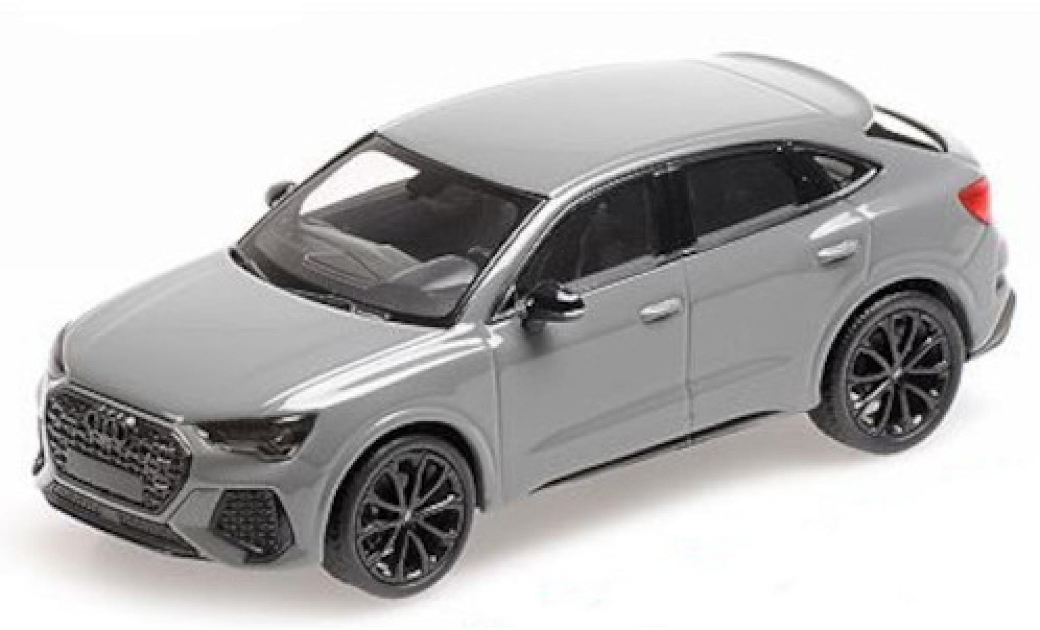 Audi RS Q3 1/43 Minichamps Sportback (F3) grey 2019